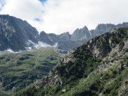panorama sul vallone della Gura