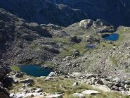 Lac Balaour visti dall'alto