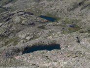 I lac Cabret e Balaour visti salendo