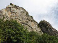 panorama sulle pareti della sbarua