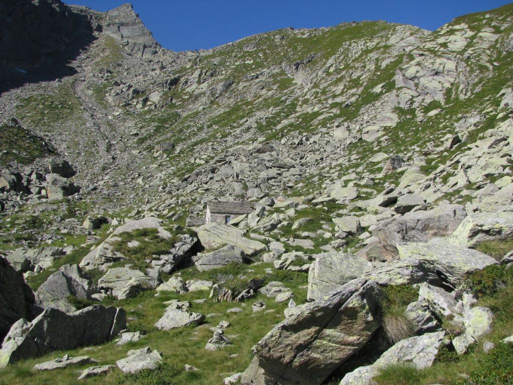 Arrivo all'Alpe Antena