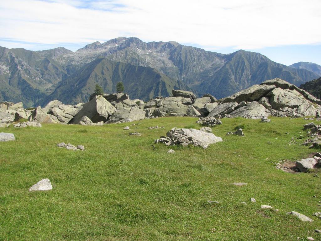 Panorama dal piano dell'Alpe Antena