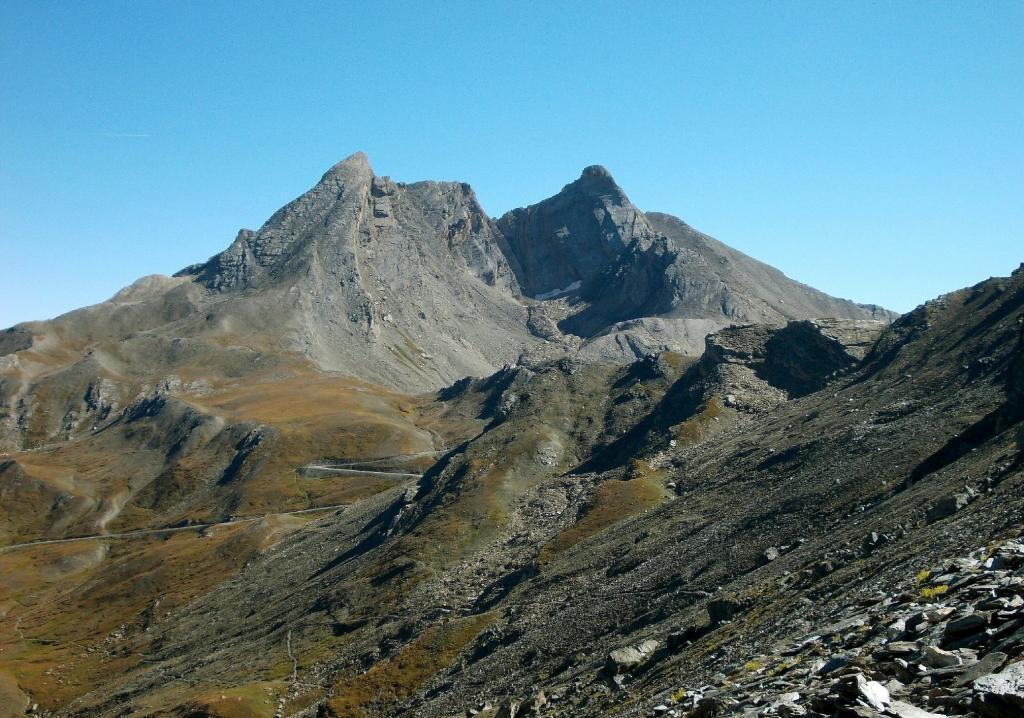 Pan di Zucchero,Rocca Rossa e Pic D'Asti,dal sentiero per il Col de Chamoussiere
