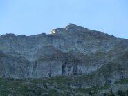 Ultime luci della sera sulla cresta sud