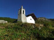 La chiesetta nel vallone di San Grato