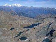 Gran Lago dalla cima del mont Glacier