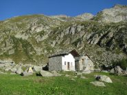 Alpe Munes con in alto la Becca Torchè