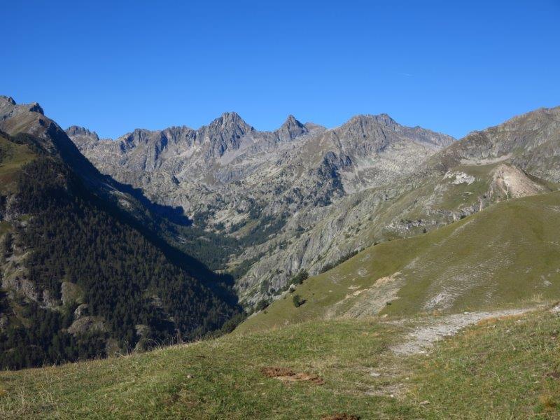 Verso la Valmasque, Chamineye, Lusiere.....