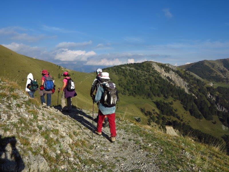 Ritorno verso la Baisse de Barchenzane
