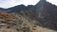 La cima del Furgon vista dall'anticima