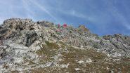 La cima del Furgon vista da la Coppa