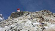 l'ultimo salto roccioso