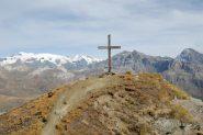 la croce in cima