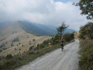 verso il colle Birrone 1700 m.