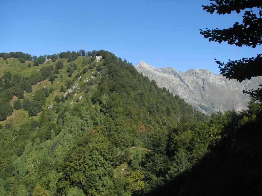 Verso Cima Tirolo e Monte Colombo