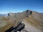 l'invitante cresta del Faraut (vista dal Buc Faraut)