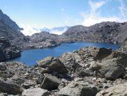 il bel lago delle Forciolline alle spalle del Boarelli