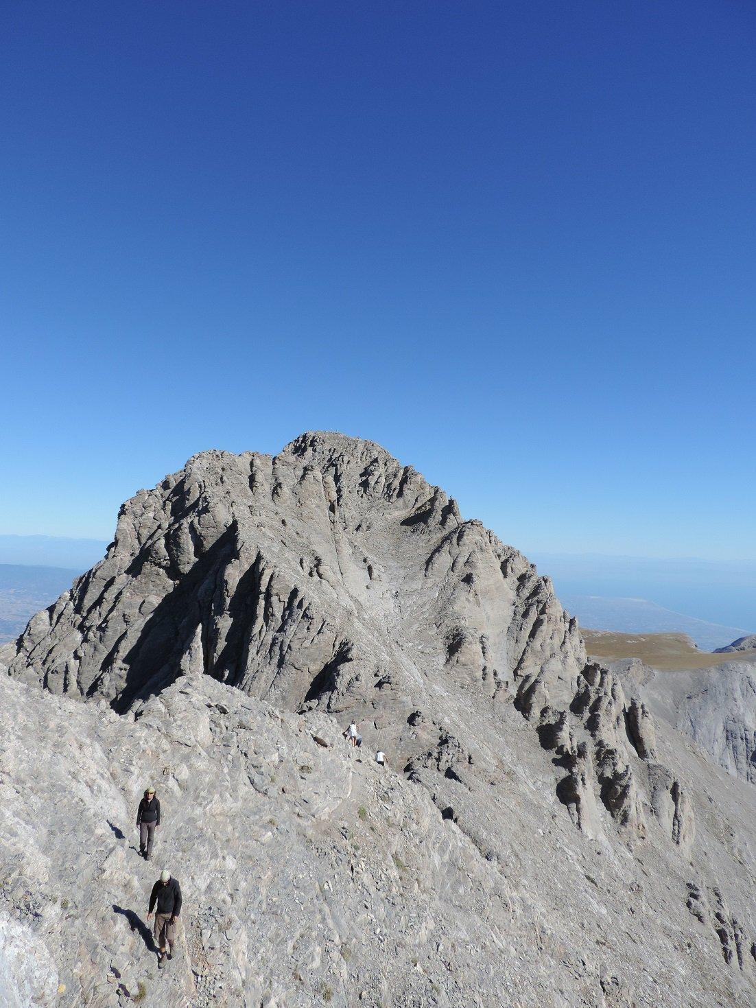 Olimpo (Monte) - Punta Mitikas Via Normale da Skala 2013-09-25