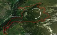 Magdeleine_Chamois-Champlong percorso