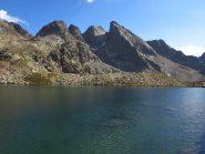 Lago della Paur e Cime di Valrossa