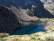 Lago del Malinvern visto salendo ai laghi della Paur