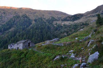arrivo all'Alpe Vignone (1991 m)
