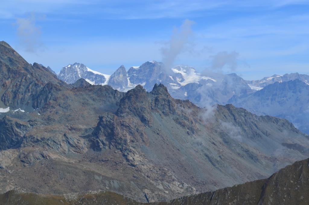 il Bernina dalla vetta del Pizzo Bello
