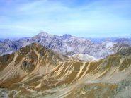 I passi del Pedenoletto e Pedenolo visti dalla cresta Radisca - Braulio