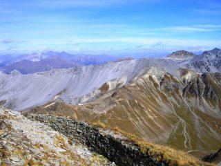 Sul Monte Braulio: la bocchetta della Forcola e la Cima di Rims