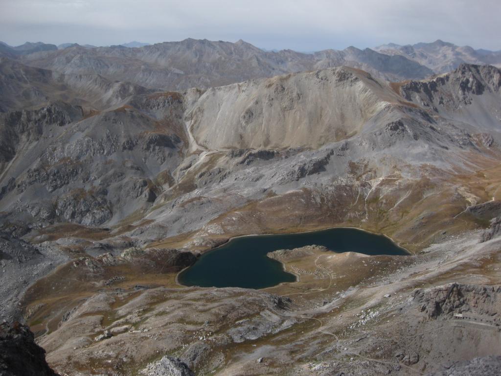 laghi dalla cima