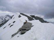 la cima del Pic Lombard