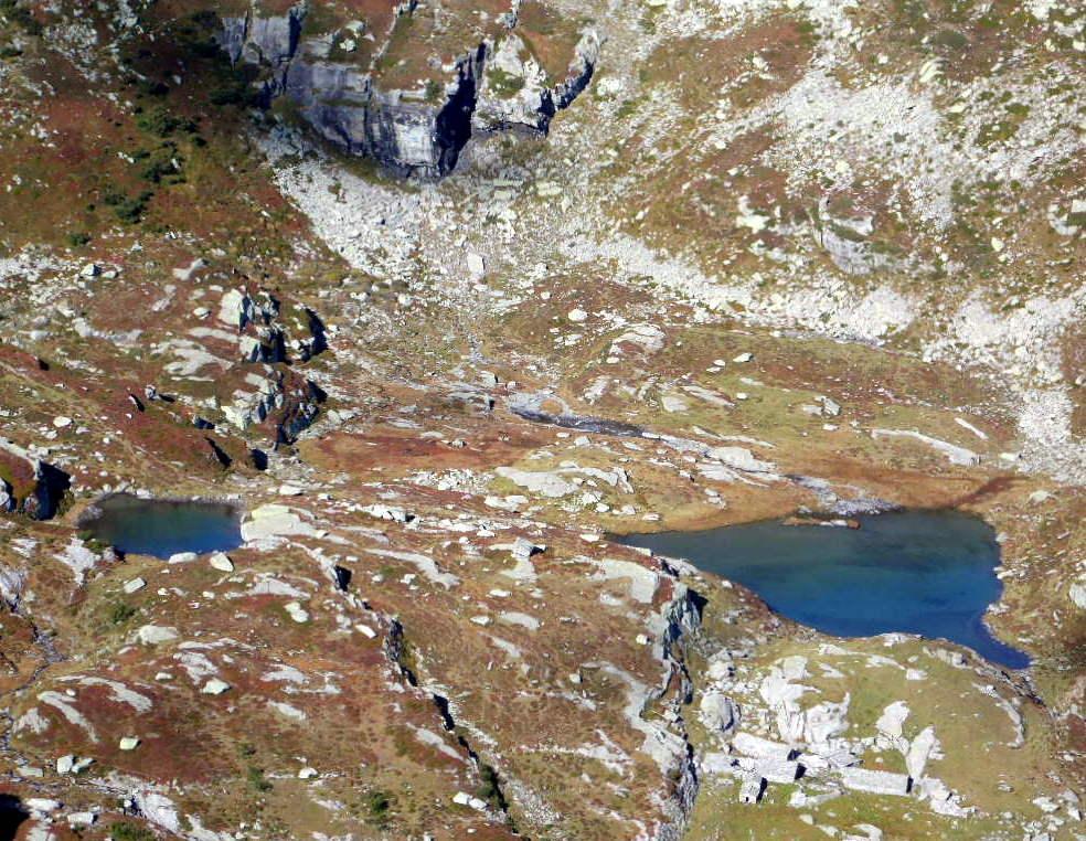 Rous (Punta del) e Punta Crosetda Molera, anello per Colle del Trione e Colle Croset 2013-10-01