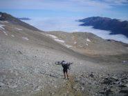 nuvole basse sulla Valle di Susa