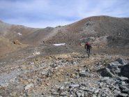 in prossimità del passo dei Forneaux sett. 3159 m.