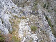 il caratteristico sentiero