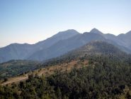 il sentiero sul Monte Grazian