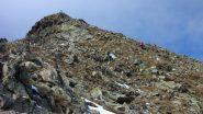 Gianfranco a pochi minuti dalla cima (12-10-2013)