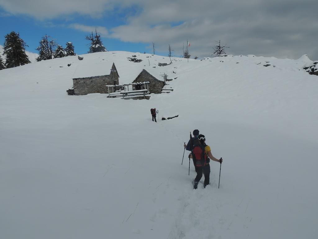 Il bivacco ANA e i 30 cm di neve