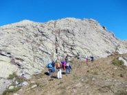 ai piedi della Rocca Pergo Piccola
