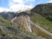 le belle cascate delle Fontane Pietrificate