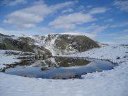 la ciriunda si specchia nel lago vailet