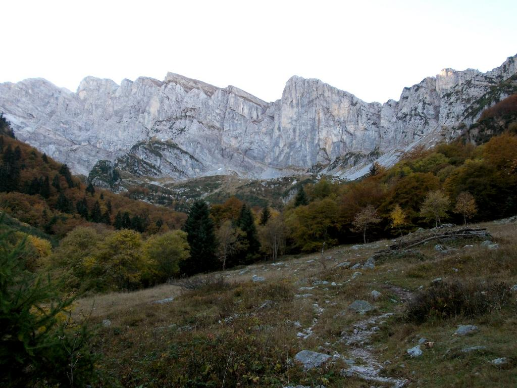 le cime dal Vallone del Marguareis
