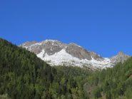 La cresta sud-est del Monte Vioz