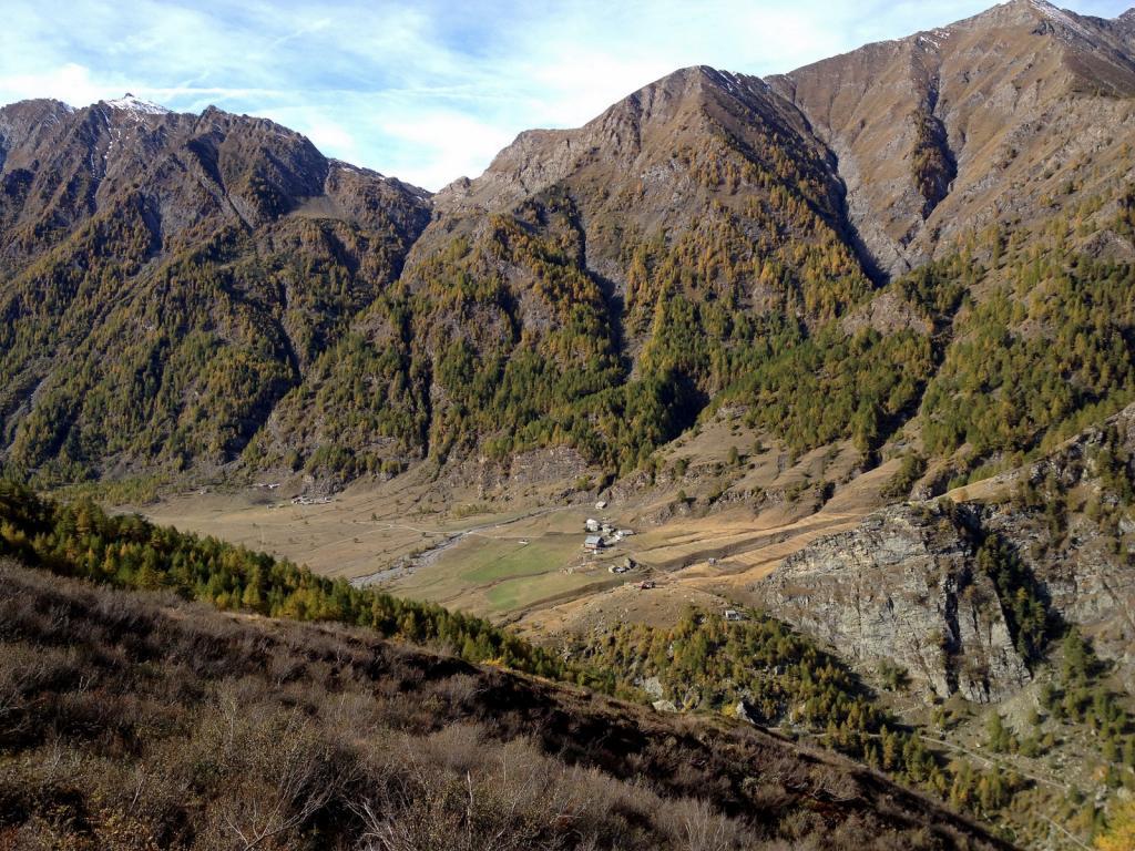 Barant (Col) da Eyssart per la Conca del Prà, discesa sentiero dell'Autagna 2013-10-18