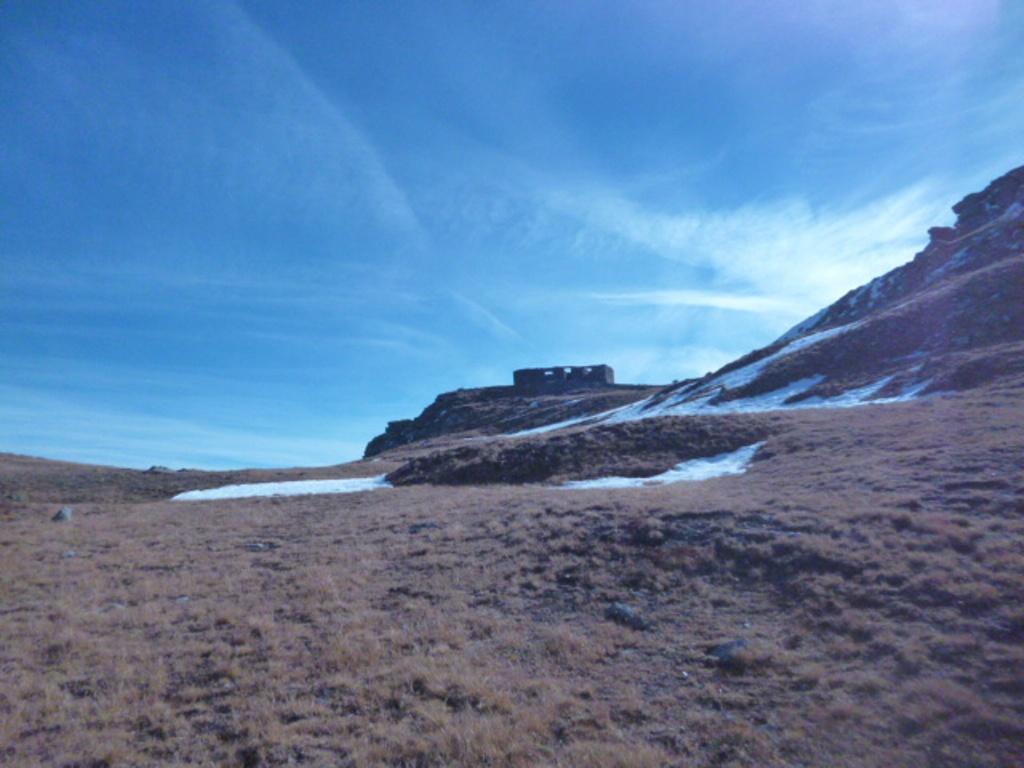 Ciantiplagna (Cima) da Soubeyrand per la cresta dal Trucco delle Vaccare 2013-10-18