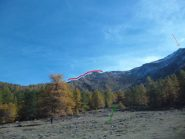 cresta, cima e percorso dal Vallone