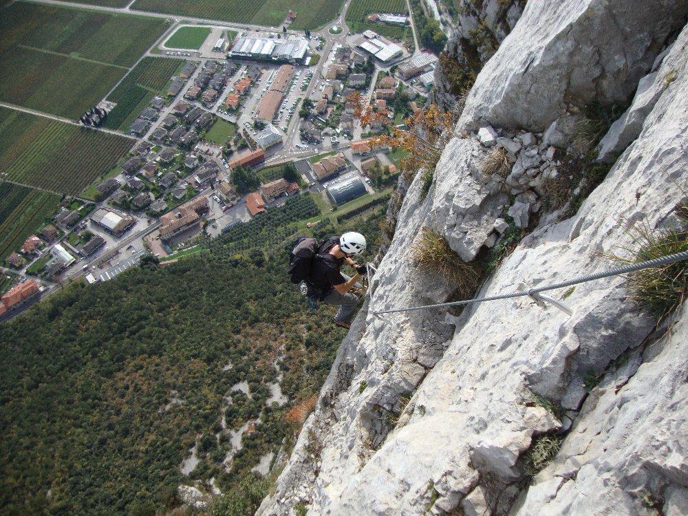 Andrea T. sul verticale