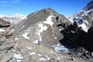 ultimo tratto del percorso per la cima (19-10-2013)