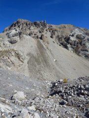 Lo Scaletta e il selvaggio paesaggio dove passa il sentiero alto