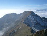 Cresta di collegamento con la Quinzeina